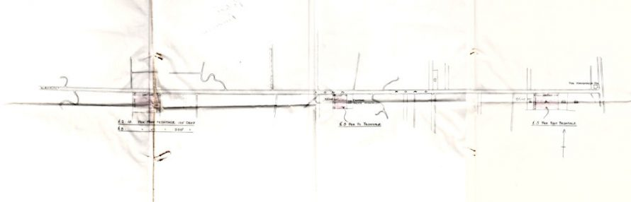 Proposed police houses 1933 | click on picture to see an enlargement