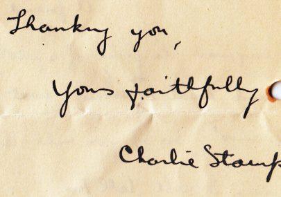 Charlie Stamp