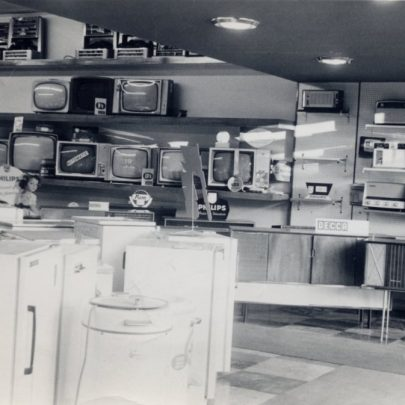 The main electrical department in the Furtherwick shop | Miriam Litman