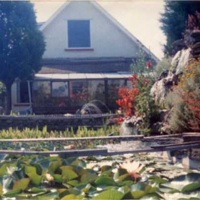 f).Looking towards the main conservatory in the past. | N.Bevan