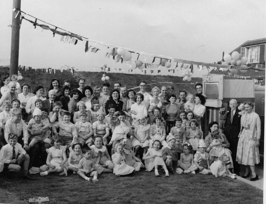 1960s Gains Close Wedding Street Party | Bill Blissett