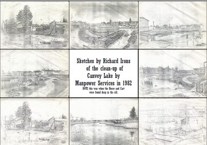Sketches by Richard Irons