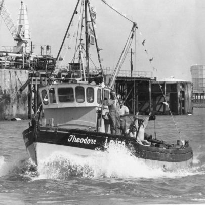 Theodore was the rescue boat. | Echo newspaper group and the Rayleigh Town Museum