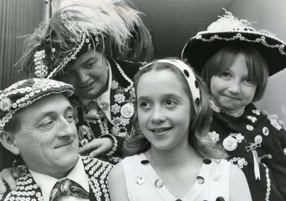 Pearly King and Queen of Ilford