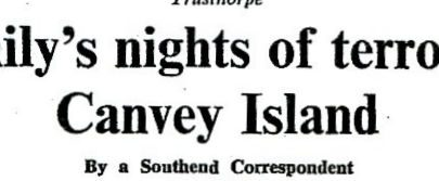 Family's Night of Terror on Canvey Island