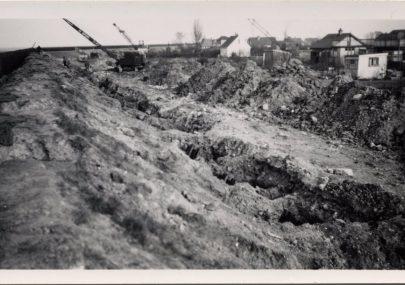 Sea Defence Repairs 1953