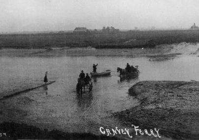 The Crossing between Benfleet and Canvey.