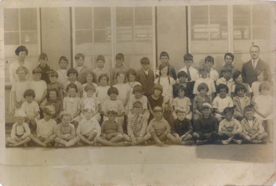 Class of 1927-28 William Reed School. The Headmaster William Read is far right | Richard Powell