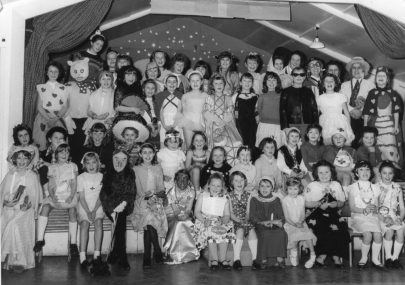 Canvey Guides annd Brownies Christmas Party 1965