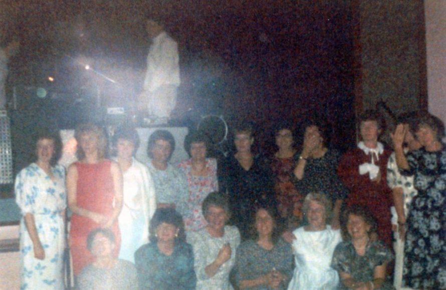 Georgettes Juveniles Reunion 1988