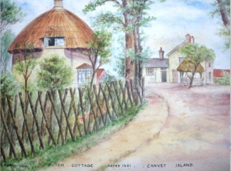 Dutch Cottage dated 1621 Canvey Island