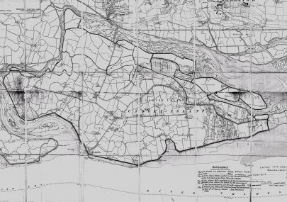 Canvey Map 1898 Edited 1923