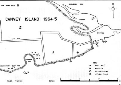 "The Excavation of a ""Red Hill"" on Canvey Island"