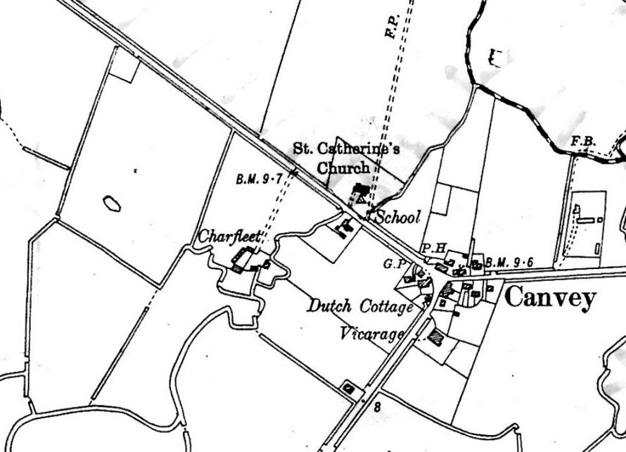 Map dated 1898