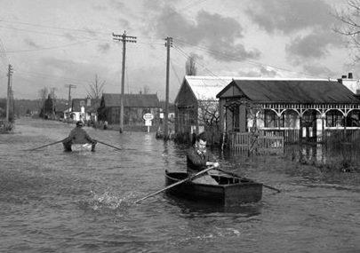 Canvey Flood Picture