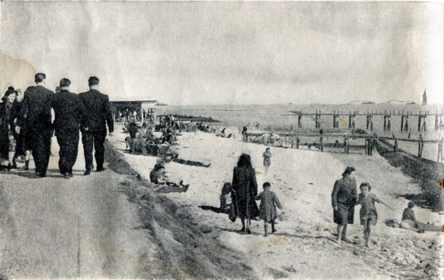 Canvey Seafront pre 1954