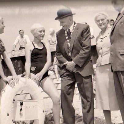 George Pickett with Brigadier Shenstone | Ron Reynolds