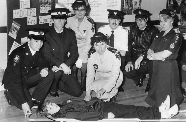 St John Ambulance officers | Echo newspaper group and the Rayleigh Town Museum
