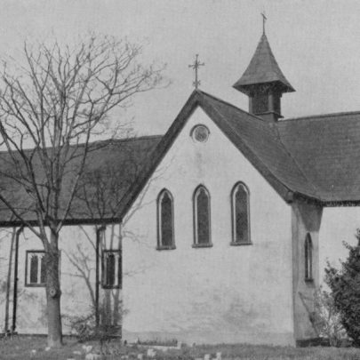 The old Parish Church of St Katherine, consecrated by Bishop Claughton of Rochester on November 9th, 1875