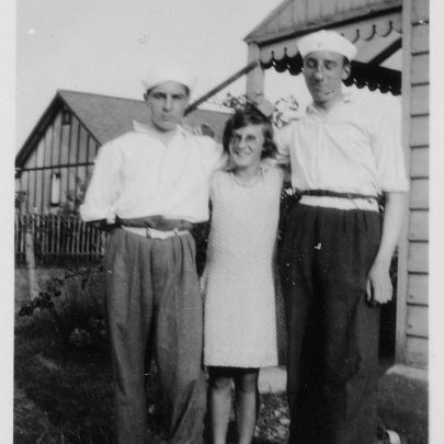 Frank, Marjorie and Jo | Marjorie Parks