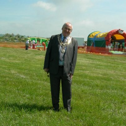 Dave Cross our new Mayor kindly let us take his picture | Janet Penn
