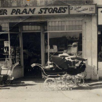 No 39 High Street. Tower Pram Stores. c1950's | Miriam Litman