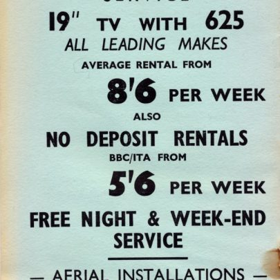 Tower Radio Ltd c1964