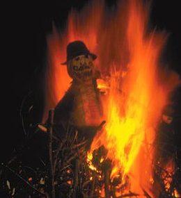 Bonfire Night on The Labworth Estate