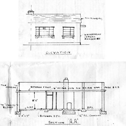 Another proposed two bedroom bungalow and its construction