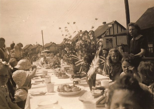 Street party in the vicinity of Stanford Road, Jones' Corner   Joy Greenwood