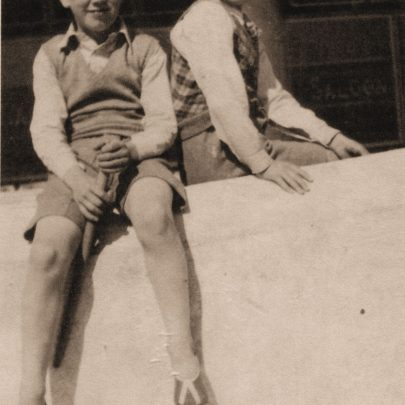 Robin and his brother Roy hanging out at the Casino 1937 | Robin Winkelmann