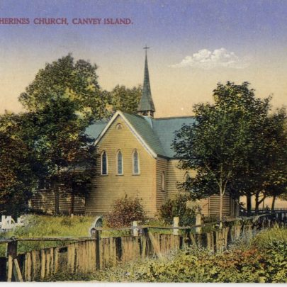 A collection of Canvey Postcards
