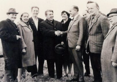 Gorbachev visits Canvey in 1963