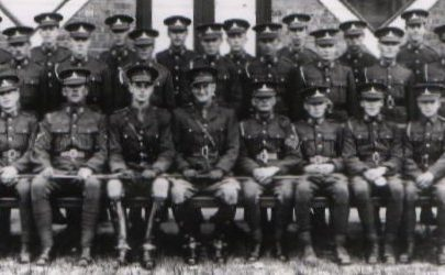 Col. Fielder and his 'Army'