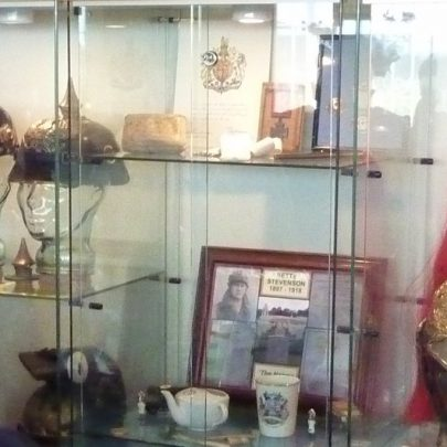 One of the displays on the first floor | Janet Penn