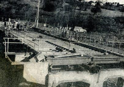 Demolition of the Canvey-Benfleet Bridge