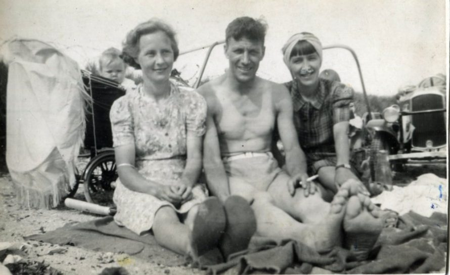 Joan's mum, Ernie and Glad | Joan Liddiard