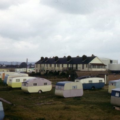 Again with the caravans. Today there are houses and modern static caravans | Norman Chisman