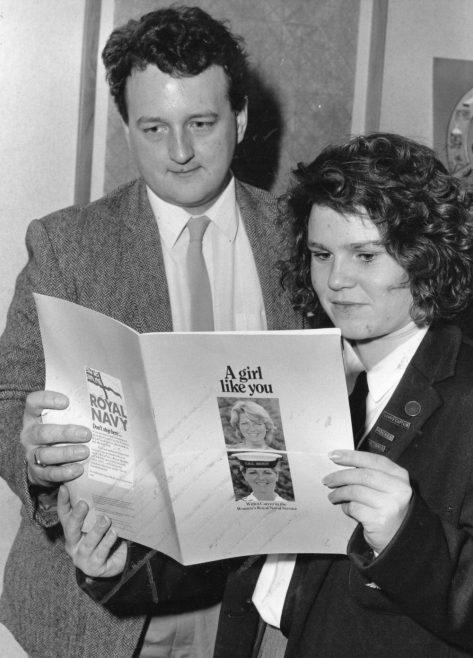 Nigel Lancaster 1990   Echo Newspaper Group
