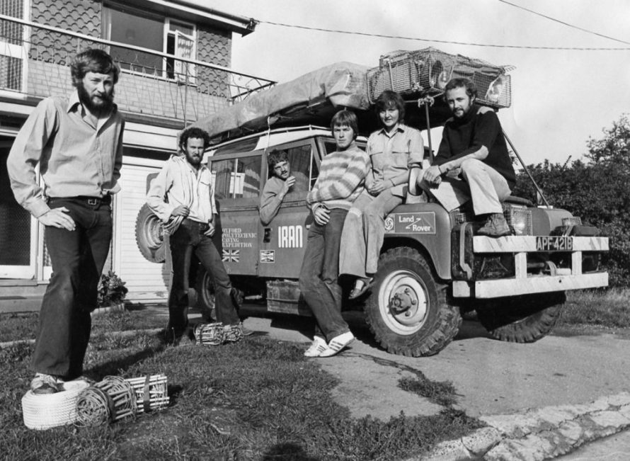 Caving in Iran | Echo Newspaper Archive