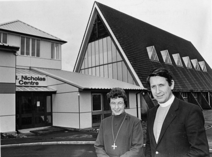 Outside the Family Centre | Echo Newspaper Archive