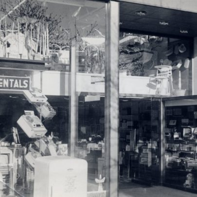 Front of shop clearly showing the mezzanine floor | Miriam Litman