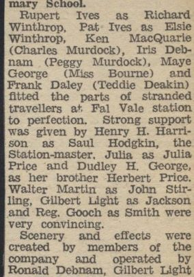 Clipping from local paper | Dudley George