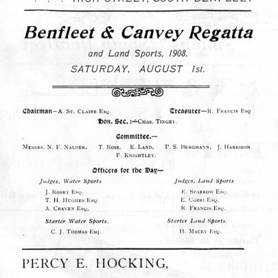 The 1908 Regatta