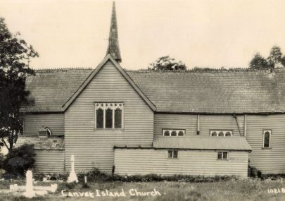 St Katherine's Church Postcard