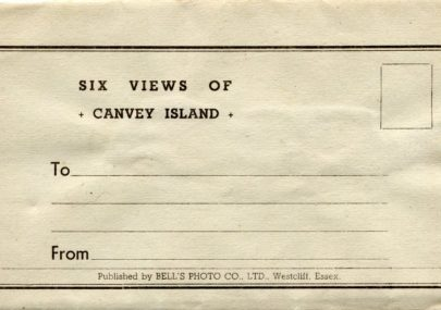 Bell's Photo Co Ltd of Westcliff Letter card
