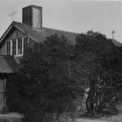 The Mission Church of St Anne, Leigh Beck, dedicated by the Bishop of Barking (Bishop Stevens) on November 5th, 1910