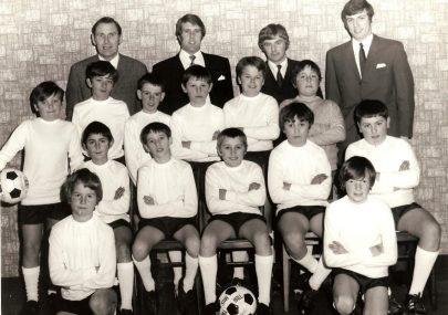 Newlands under 13's Christmas 1969
