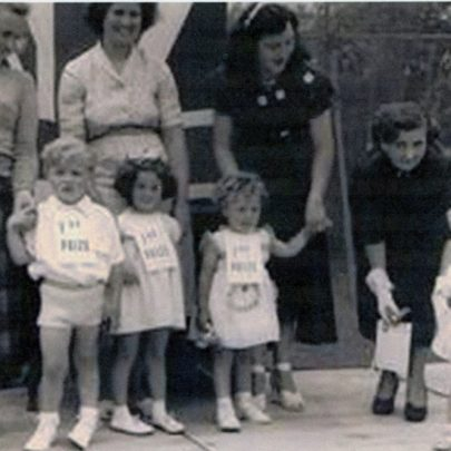 Sharon winning a baby contest | David Cain
