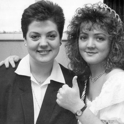 1990 Paula Fiddy has an heir at last in Suzanne Knox
